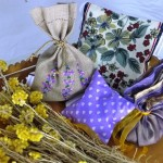Quinta das Lavandas Sacos de lavanda e coussins de lavanda