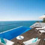 Villa Mar Azul - Pool and view
