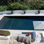 swimming pool from rooftop terrace