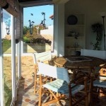 10 CANTO DO SOL - Conservatory in front of the small room with sea view
