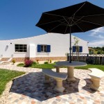 12 CANTO DO SOL - Private garden terrace and patio beside the conservatory with panorama view