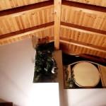 2.07 CASA PAVÃO - Sleeping loft seen from the living area