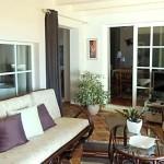 23 CASA ALECRIM - Living room with door to dining room, left side Quarter 2
