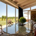 27 CASA ALECRIM - Conservatory in front of the dining room with ample sea and sunset view