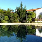 3.00 CASA PEIXE - Rear view with swimming pool (wheelchair accessible)