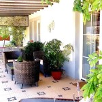 3.11 CASA PEIXE - Fully private veranda in front of the bedroom and the kitchen