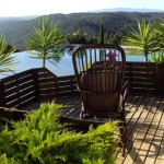 3.13 CASA PEIXE - Sun deck in front of swimming pool with panorama view