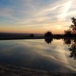 4.10 SALGADINHO - Swimming pool at sunrise