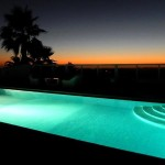 44 SÍTIO DAS ROLAS - Illuminated swimming pool and sunset panorama