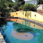 S 24a SELÃO - Swimming pool with YinYang and 64 I Ging symbols