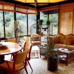 S 40 SELÃO - Glass pavilion (Café) interior