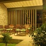 Casas do Pátio, the veranda