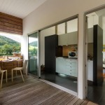T1 Japanese Cedar Villa Kitchinete